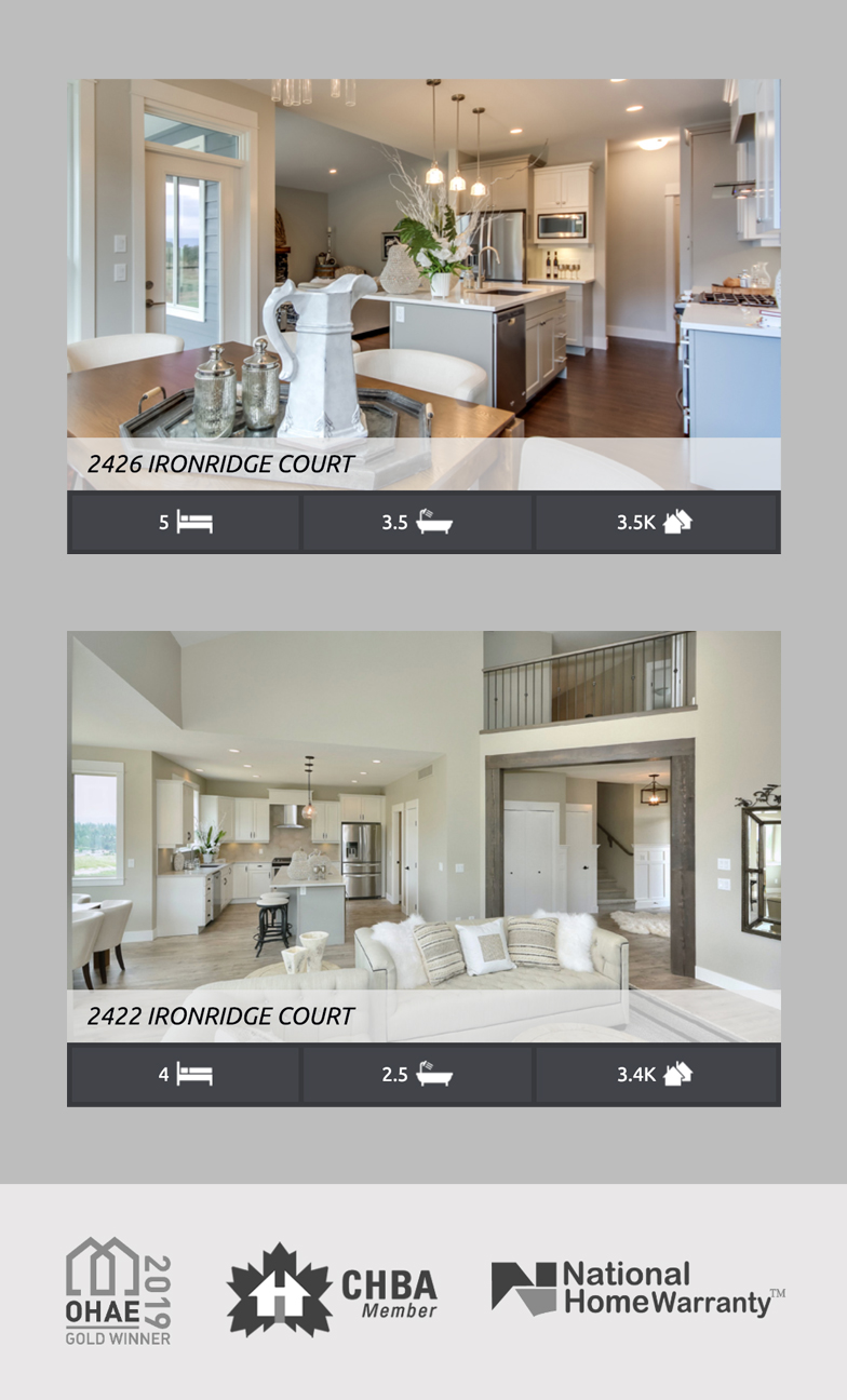 H&H Custom Homes Showcase - Web Design Case study by Catalyst Marketing Cooperative
